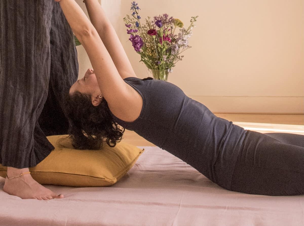thaise yoga massage