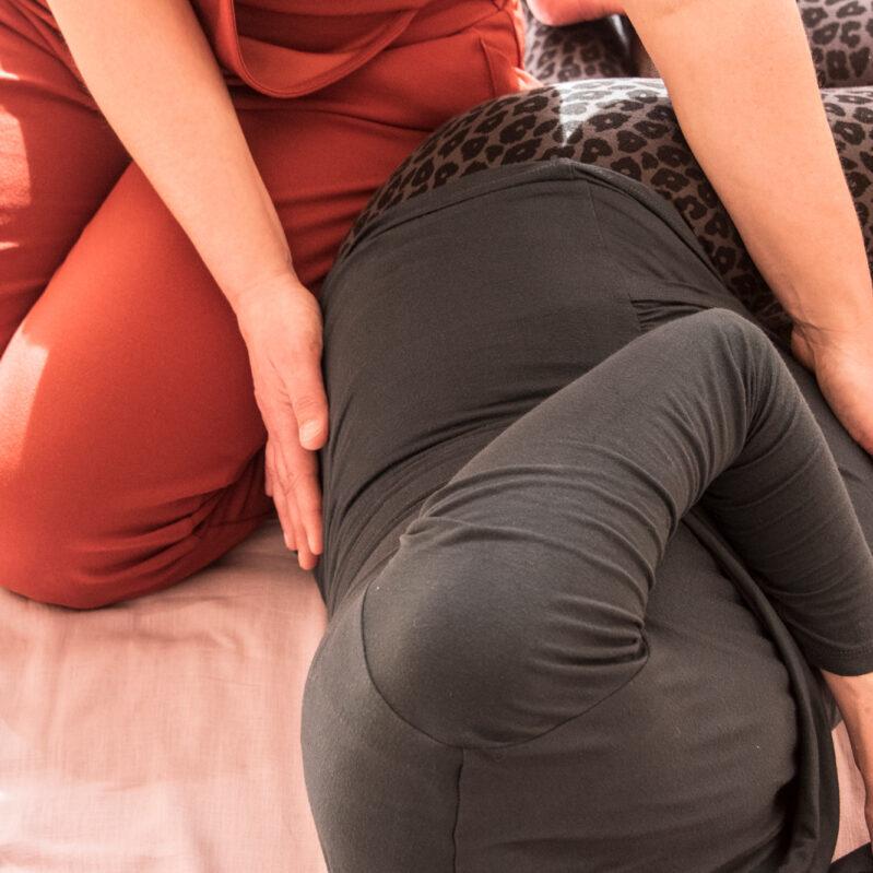 thaise zwangerschapsmassage